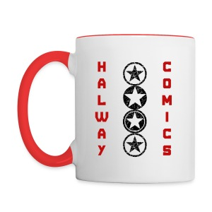 Halway Comics Mug Red - Contrast Coffee Mug