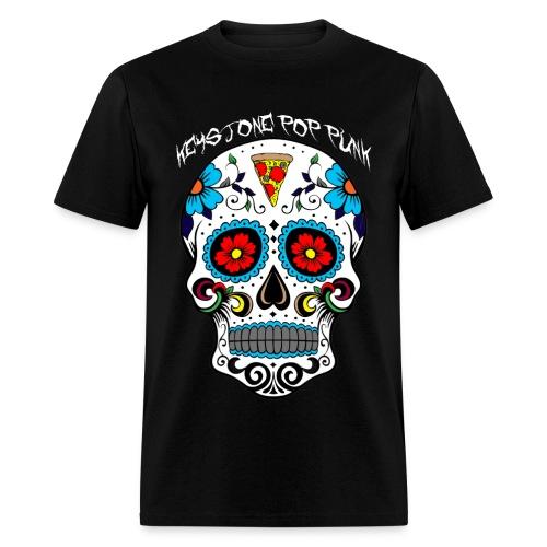 Pizza Skull T-Shirt - Men's T-Shirt