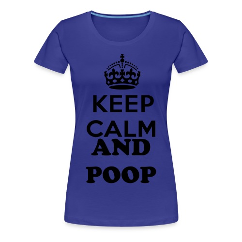 KEEP CALM T-Shirt - Woman - Women's Premium T-Shirt