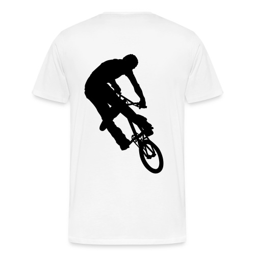 Turn Down (wht) T-shirt - Men's Premium T-Shirt
