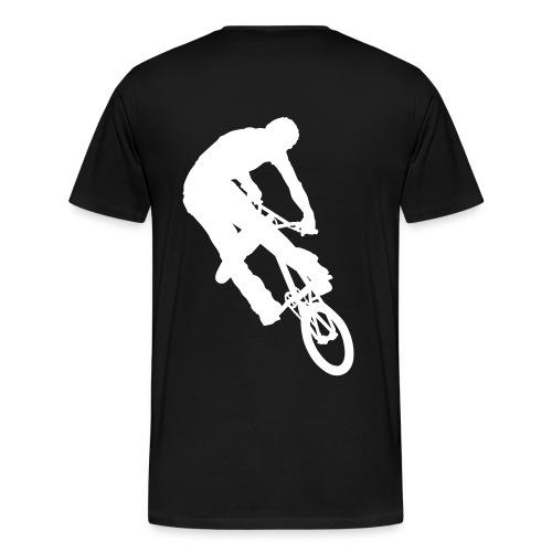 Turn Down (blk) T-shirt - Men's Premium T-Shirt
