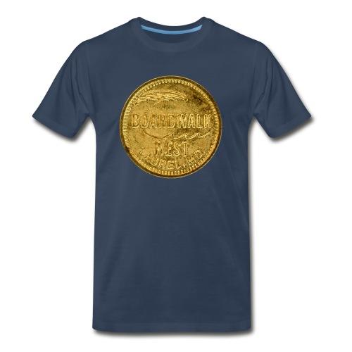 Boardwalk West Token - Men's Premium T-Shirt