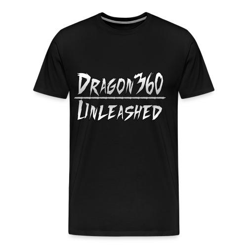 Dragon360 Unleashed Black Men's Shirt - Men's Premium T-Shirt