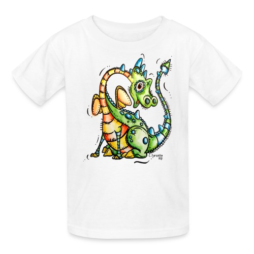 Aubert le dragon - Kids' T-Shirt