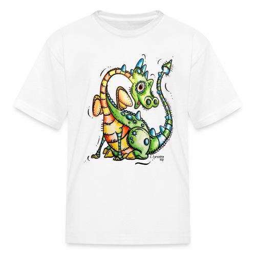 Aubert le dragon - Kids' T-Shirt