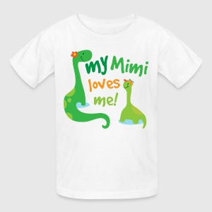 My Mimi Loves Me dinosaur Kids' Shirts - Kids' T-Shirt