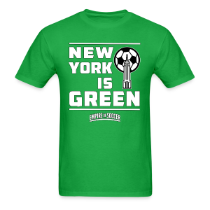 NY is GREEN - Men's T-Shirt, Green - Men's T-Shirt