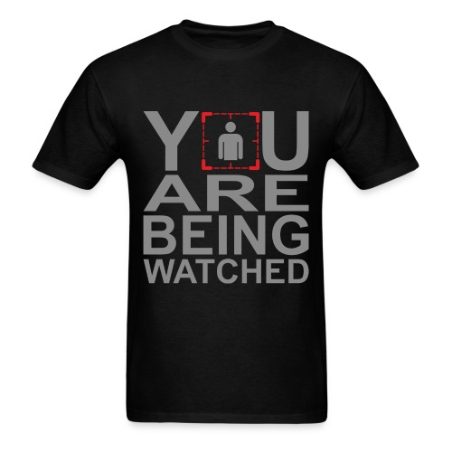 Person of Interest - You Are Being Watched - Men's T-Shirt