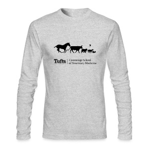 Men's Long Sleeve T-shirt - Running Animals - Men's Long Sleeve T-Shirt by Next Level