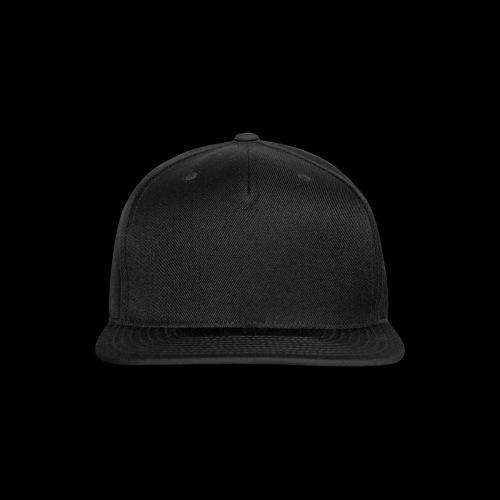 black hat  - Snap-back Baseball Cap