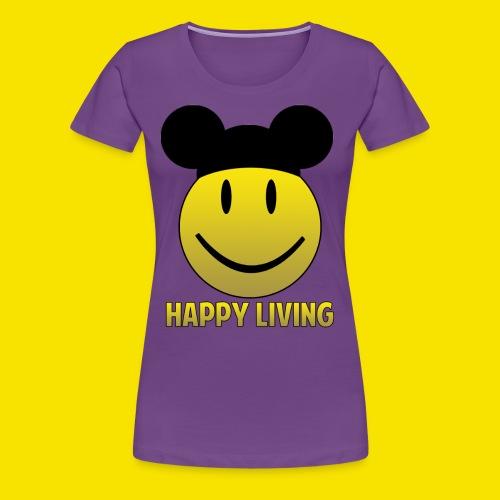 Happy Living Ears - Women's Premium T-Shirt