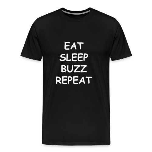 Eat Sleep Buzz Repeat T-shirts - Men's Premium T-Shirt