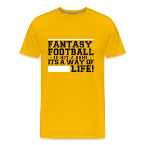 Fantasy Football Way of Life 1 - Men's Premium T-Shirt