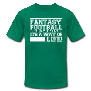 Fantasy Football Way of Life 1 - Men's Fine Jersey T-Shirt