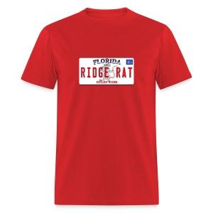Orginal Rat License Plate - Front Design - Mens Basic - Men's T-Shirt
