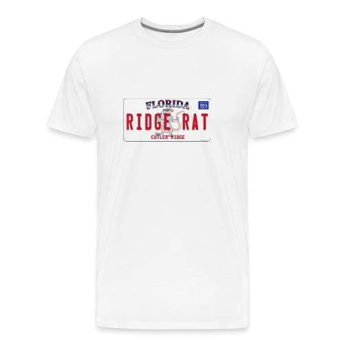 Orginal Rat License Plate - Front Design - Mens Premium - Men's Premium T-Shirt