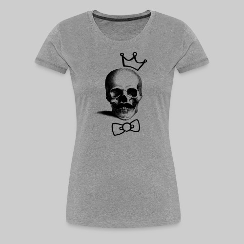 Be Busta Women's Skull - Women's Premium T-Shirt