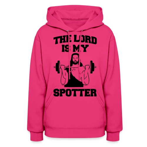 Lord Is My Spotter (female) - Women's Hoodie