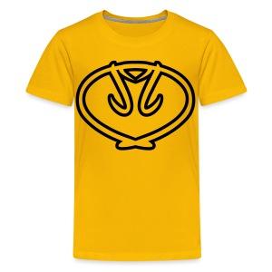 Kids' Team Drechsel Shirt w/ Black Logo - Kids' Premium T-Shirt
