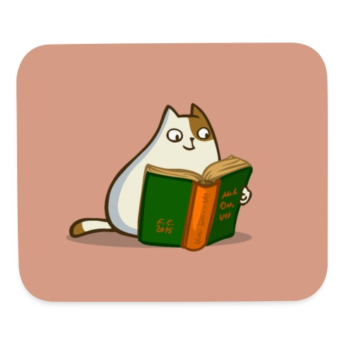 Friday Cat №19 - Mouse pad Horizontal