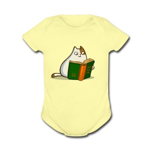 Friday Cat №19 - Short Sleeve Baby Bodysuit