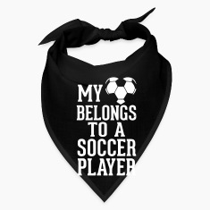 MY HEART BELONGS TO A SOCCER PLAYER Caps