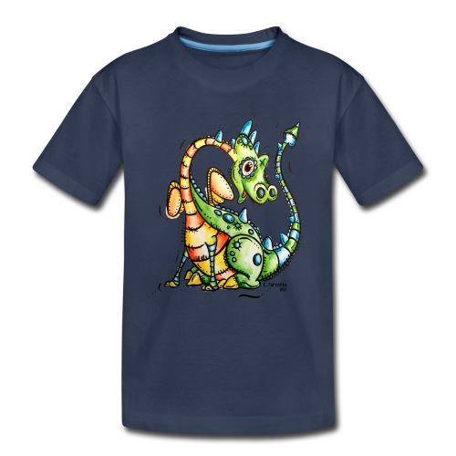 Aubert le dragon - Toddler Premium T-Shirt