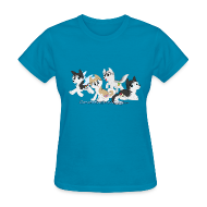 Women's T-Shirts ~ Women's T-Shirt ~ My Little Husky - Women's T-Shirt