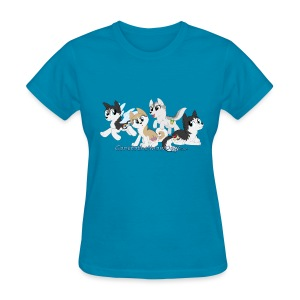 My Little Husky - Women's T-Shirt - Women's T-Shirt