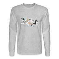 Long Sleeve Shirts ~ Men's Long Sleeve T-Shirt ~ My Little Husky - Men's Long Sleeve