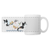 Mugs & Drinkware ~ Panoramic Mug ~ My Little Husky - Panoramic Mug