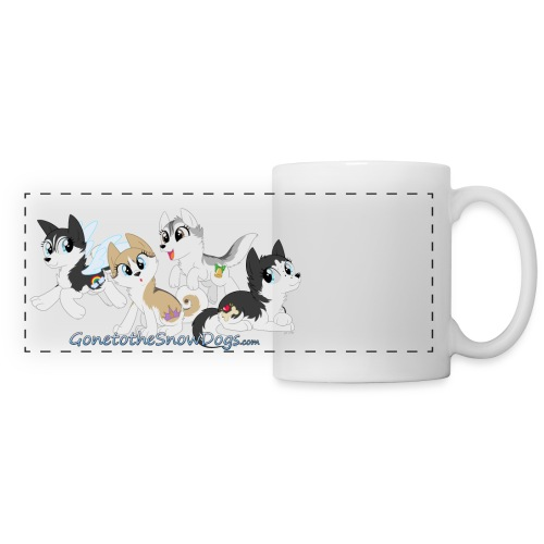 My Little Husky - Panoramic Mug - Panoramic Mug