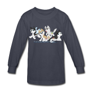 Kids' Shirts ~ Kids' Long Sleeve T-Shirt ~ My Little Husky - Kid's Long Sleeve