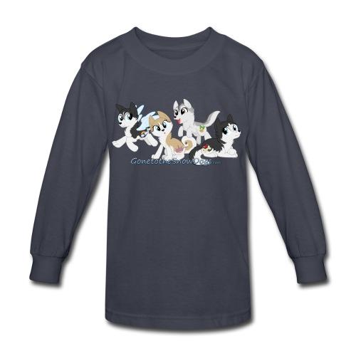 My Little Husky - Kid's Long Sleeve - Kids' Long Sleeve T-Shirt