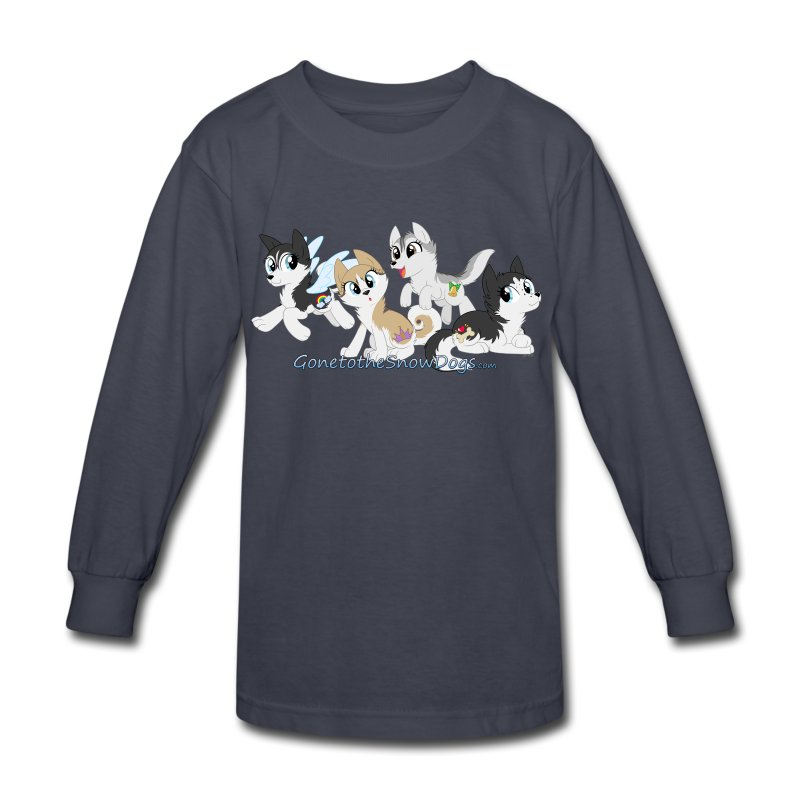 My Little Husky - Kid's Long Sleeve - Kids' Long Sleeve T-Shirt
