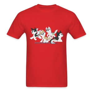 My Little Husky - Men's T-Shirt - Men's T-Shirt