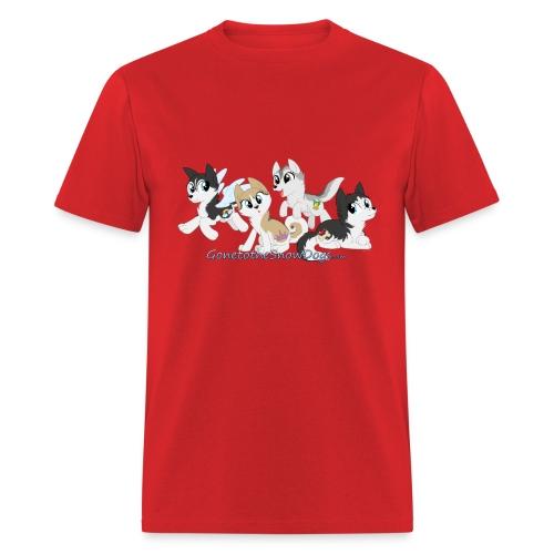 My Little Husky - Men's T-Shirt - Men's T-Shirt