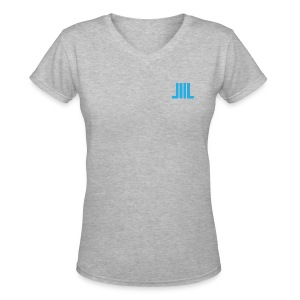 I Like Big Books - TShirt - Women's V-Neck T-Shirt