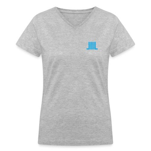 I Like Big Books - TShirt - Women's V-Neck T-Shirt