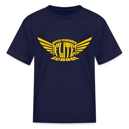 Kid's Yellow Logo Tee by Gildan - Kids' T-Shirt