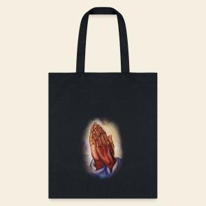 Praying Hands Tote Bag - Tote Bag