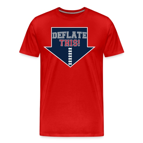 Deflate this football tee - Men's Premium T-Shirt