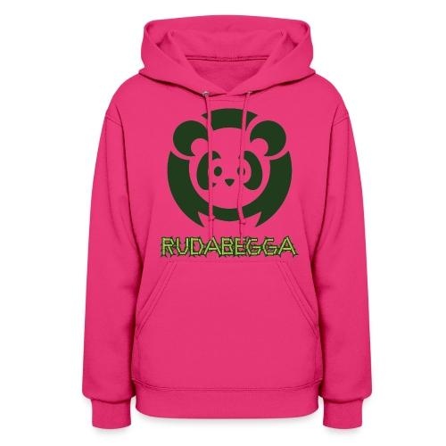 Girls Panda Pink - Women's Hoodie