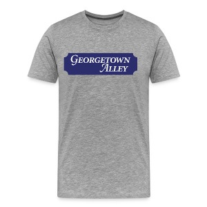 Georgetown Alley - Men's Premium T-Shirt