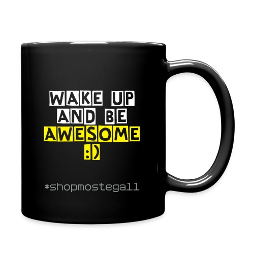 Wake Up Coffee Mug - Full Color Mug