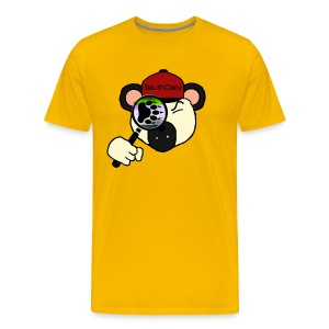 Sleuth Premium Panda Bear Luster Tee - Men's Premium T-Shirt