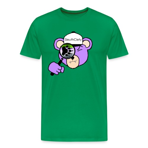 Sleuth Premium Bare Bear Luster Tee - Men's Premium T-Shirt