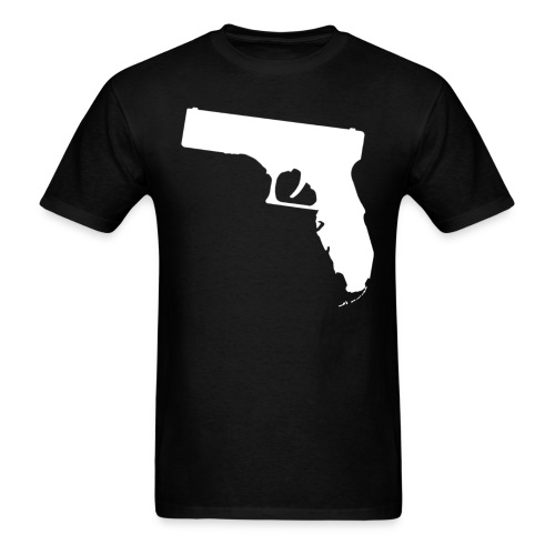 Gunshine State (BLACK) - Men's T-Shirt