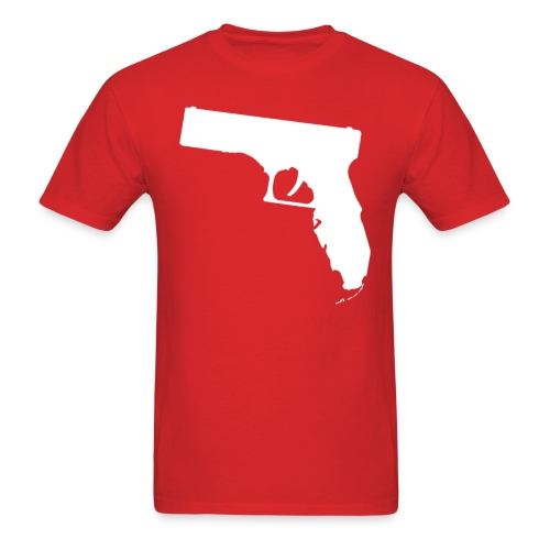 Gunshine State (RED) - Men's T-Shirt