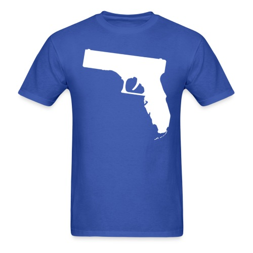 Gunshine State (BLUE) - Men's T-Shirt